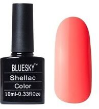 BlueSky shellac color 10 ml блюскай 075
